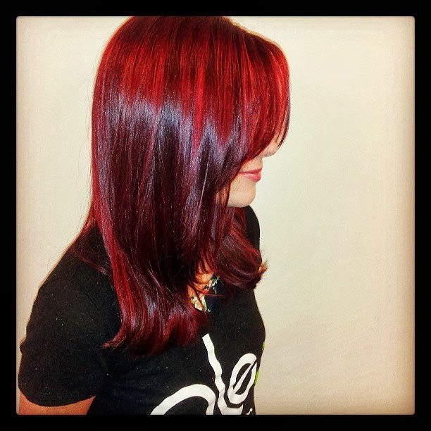 Olez Haircare Blog: Mixing Hair Colors- Fall Red Head