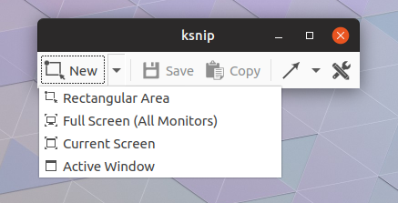 ksnip screenshot tool