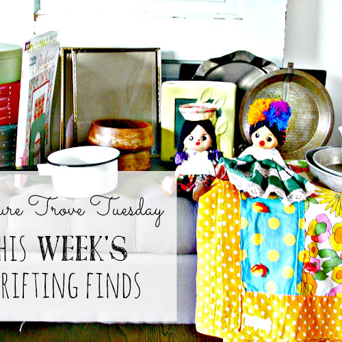 Treasure Trove Tuesday - This Week's Thrifting Finds
