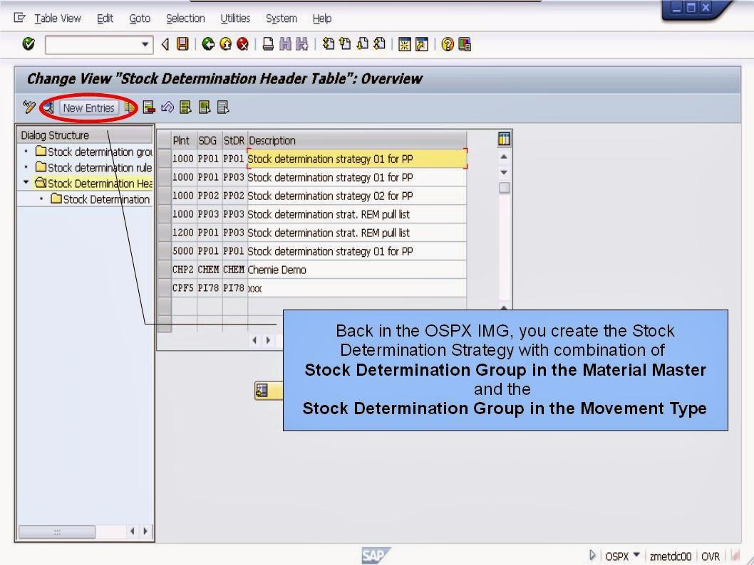 青蛙SAP分享 Learning & Examination: MM Stock Determination