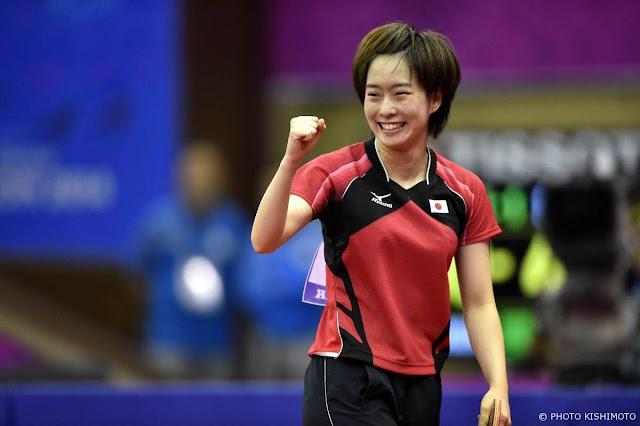 女子卓球団体銅メダリスト、石川佳純