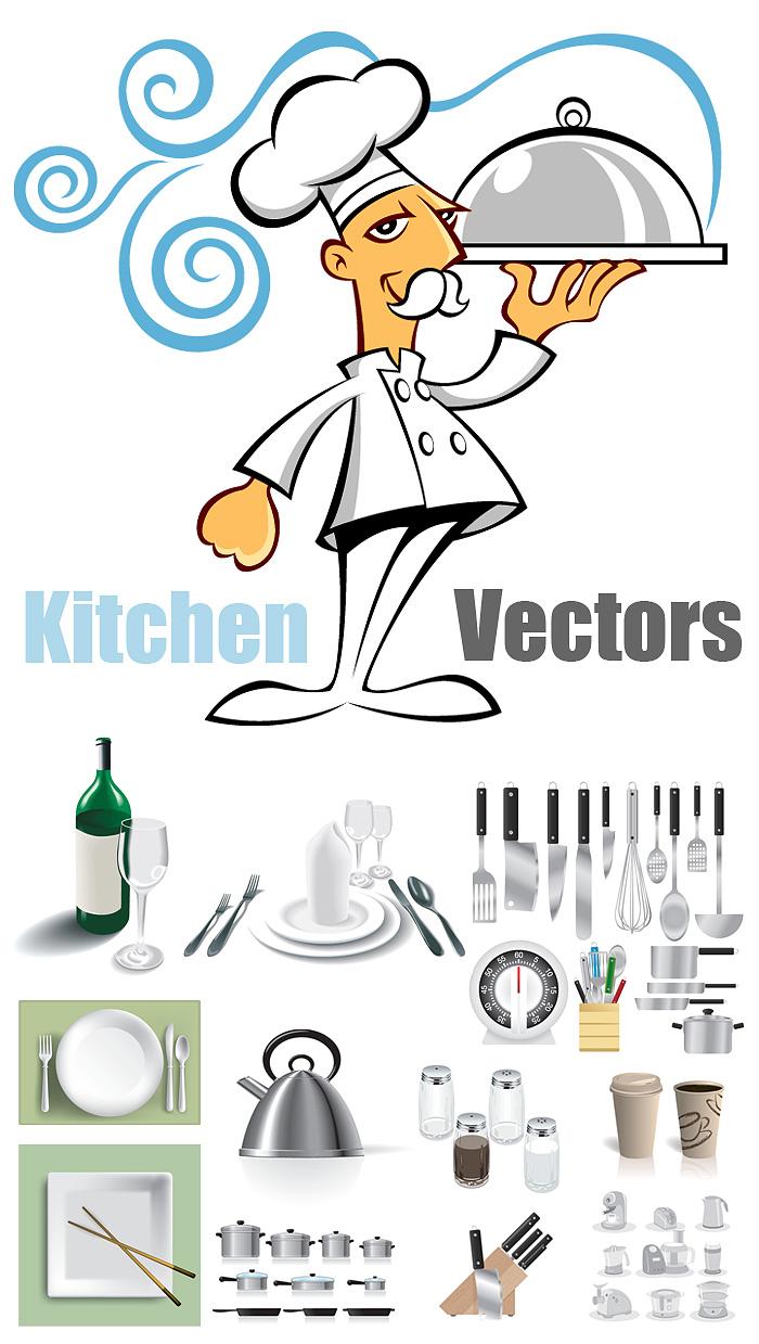 Kitchen Vectors
