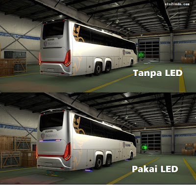 Led Scania Touring M. Husni by Davin Adi S