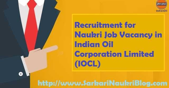 Research Officer Recruitment in IOCL R&D Centre Faridabad