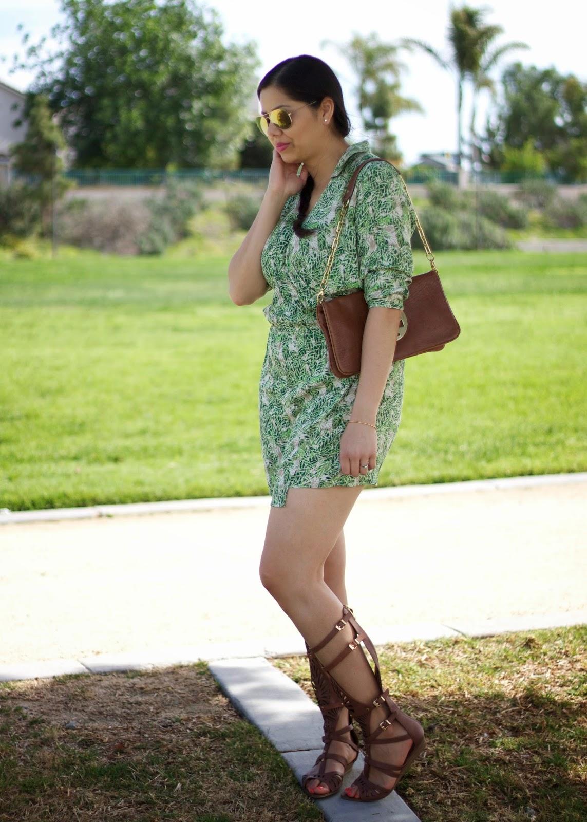 Justfab blogger, justfab cisera sandals, justfab fashion blogger, buckled gladiator sandals, affordable shoes on justfab