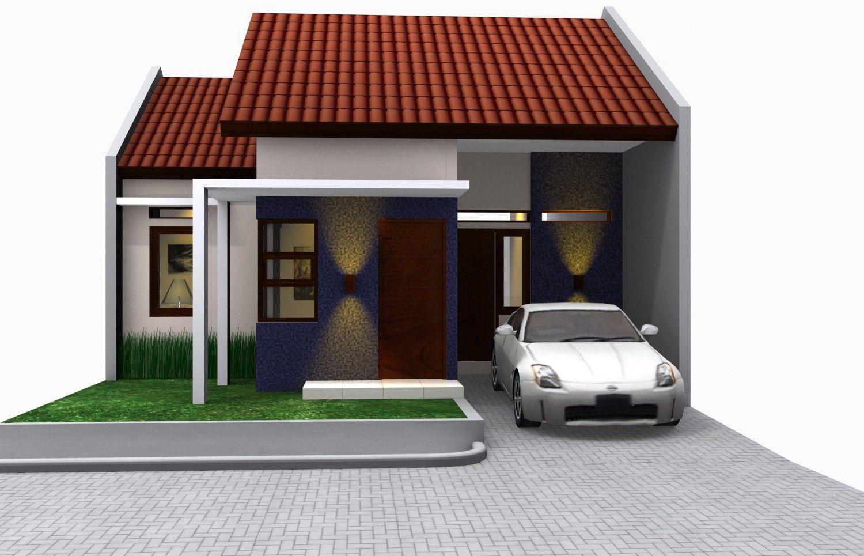 gambar rumah type 45 modern inspiratif