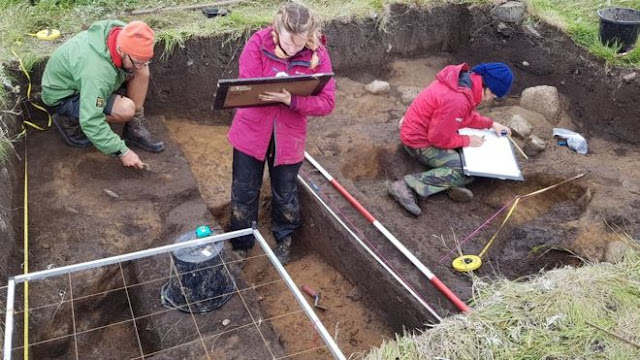 Evidence of Bronze Age human activity found on remote Scottish island
