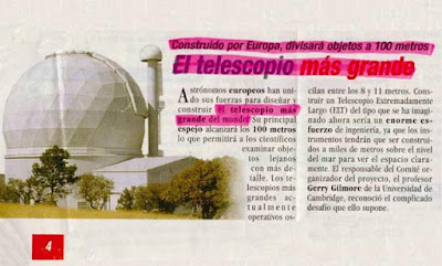 el telescopio mas grande del mundo fail noticia