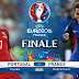 متابعة مباراة البرتغال وفرنسا نهائي يورو 2016 مباشرة بالصور
