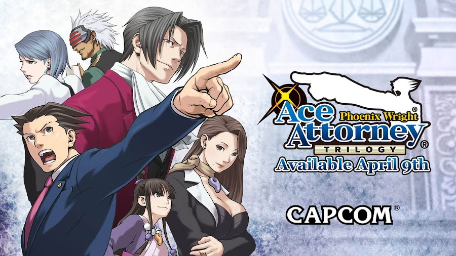 phoenix wright ace attorney trilogy capcom visual novel