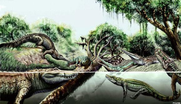 2 spesis buaya prasejarah ditemui di Venezuela