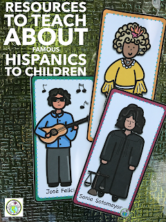 Resources to Teach about Famous Hispanics to Children- Hispanic Heritage Month