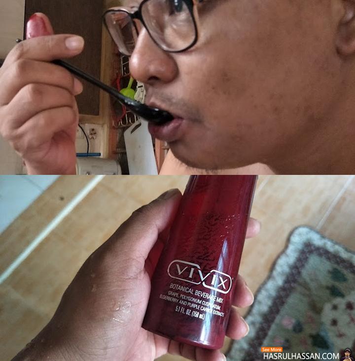 Pengalaman Ambil Vivix Sebagai Supplemen Minuman Kesihatan