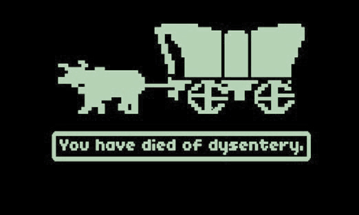 oregon trail game graphic