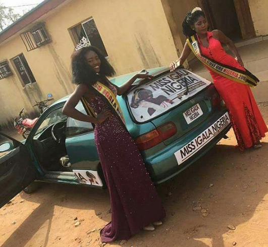 Check out the car presented to a winner of a beauty pageant in Plateau state (photos)