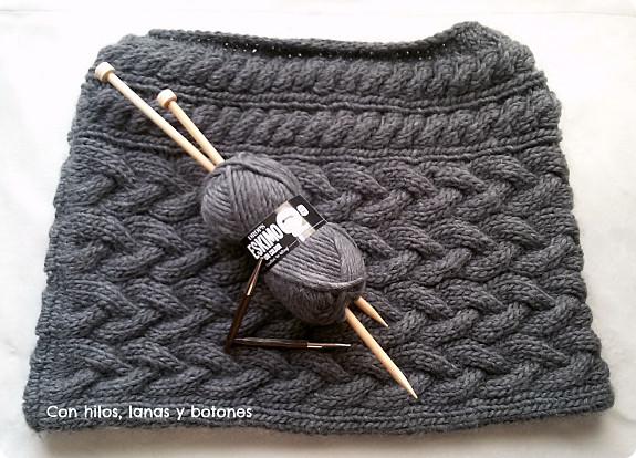 Con hilos, lanas y botones: capita Blair