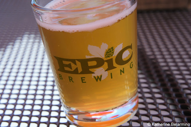 Epic Brewing Intermountain Wheat Beer RiNo Denver Brewery Tour