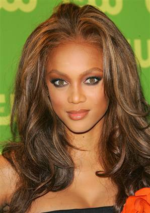 Also Tyra Banks Has A Cowlick And Very High Forehead Shes World Famous Super Model