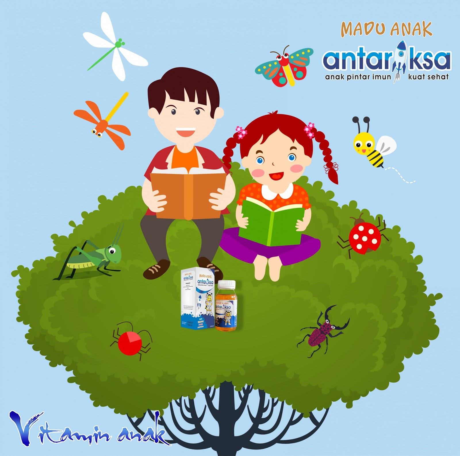 Vitamin Anak Supaya Mudah Belajar