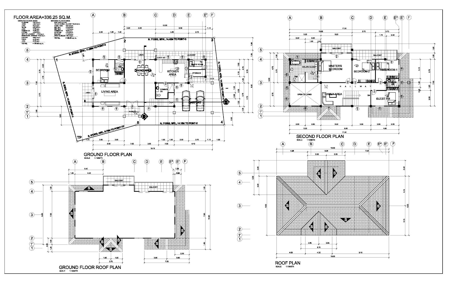 Architecture working drawings: June 2012
