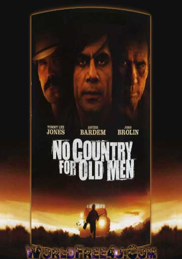 Poster Of No Country for Old Men (2007) In Hindi English Dual Audio 300MB Compressed Small Size Pc Movie Free Download Only At worldfree4u.com