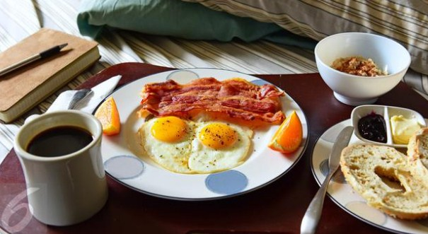 Be sure to have breakfast every day to be strong