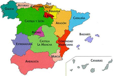 Political Map Of Spain 2017.6 Graders A B 2016 2017 Social U1 Political Maps Of Spain