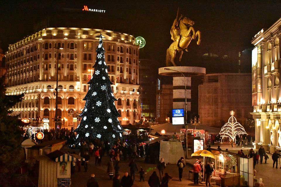 Frohe Weihnachten Mazedonisch.Weihnachtsgrüße Aus Mazedonien
