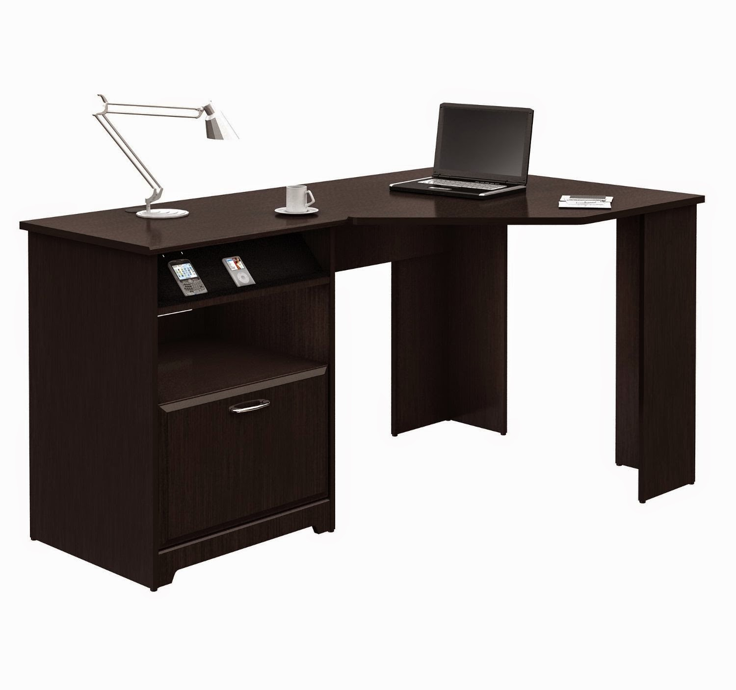Corner Computer Desk With Hutch