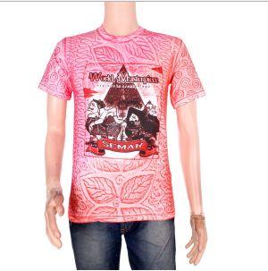 Contoh Model Kaos Batik Modern
