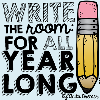 Write the Room literacy center activities for ALL year long! Includes 13 sets.
