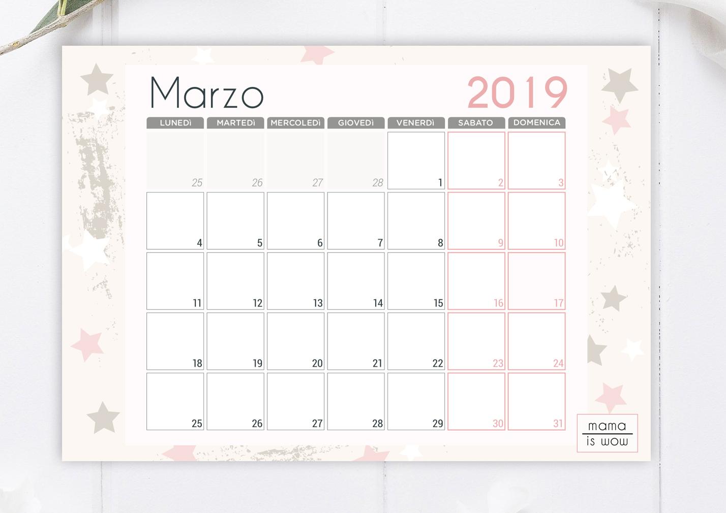 Calendario Di Marzo.Finalmente La Primavera Scarica Gratis Il Calendario Di