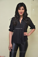 Shruti Haasan Looks Stunning trendy cool in Black relaxed Shirt and Tight Leather Pants ~ .com Exclusive Pics 008.jpg