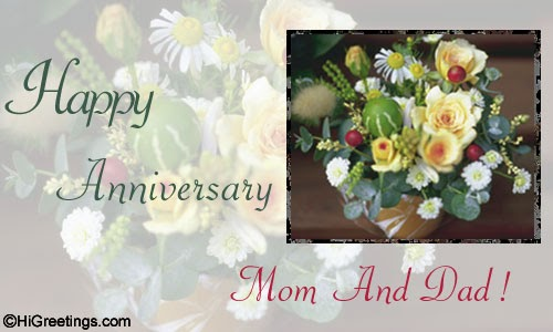 30th Wedding Anniversary Gifts For Mum And Dad: Shelllady: Happy Anniversary Mom And Dad