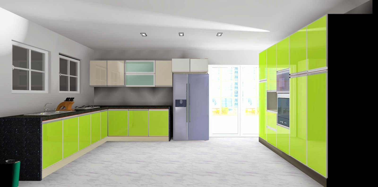 Port Son Kabinet Dapur Pamprey Cabinets
