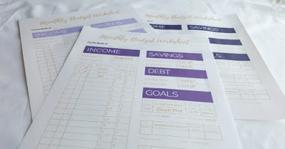 monthly budgeting printables