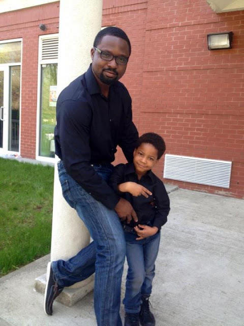 daniel with doris simeon's son