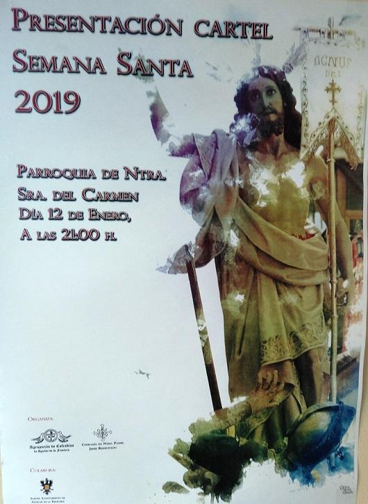 Presentación del Cartel de la Semana Santa del 2019 de Aguilar de la Frontera