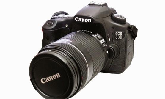 Harga dan Spesifikasi Kamera Digital Canon EOS 60D
