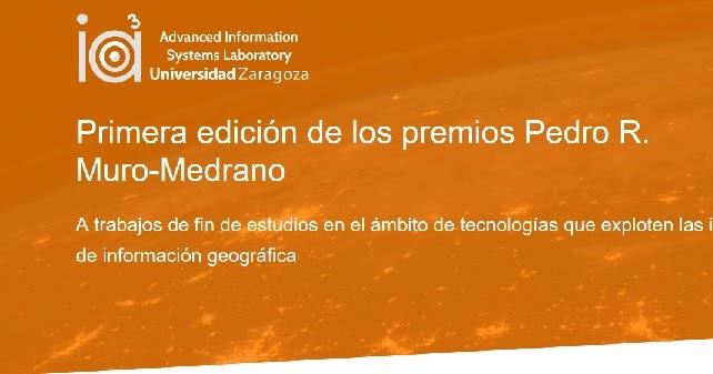 Blog Idee Se Convoca El I Premio Pedro R Muro Medrano