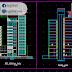 مخطط برج مكتبي تجاري اوتوكاد dwg