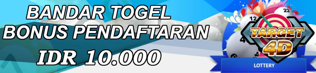 Bandar Togel Bonus Pendaftaran IDR 10.000