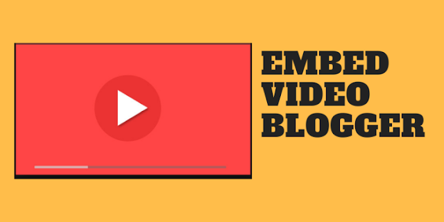 How to Embed Videos Uploaded on Blogger To Be Responsive