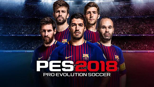 تحميل لعبة Pro Evolution Soccer 2018
