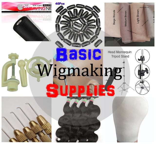 Basic Wigmaking Supplies for Wigmaking