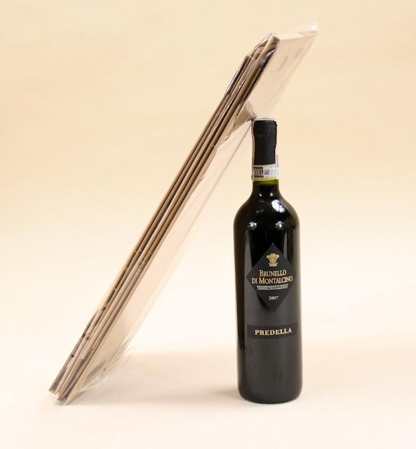 pudełko do wina z logo firmy