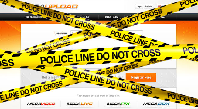 The Internet Strikes Back #OpMegaupload