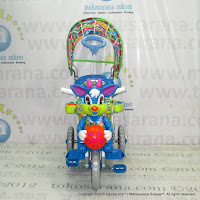 Royal RY8582C Baby Ball Double Music Cushion Seat Baby Tricycle
