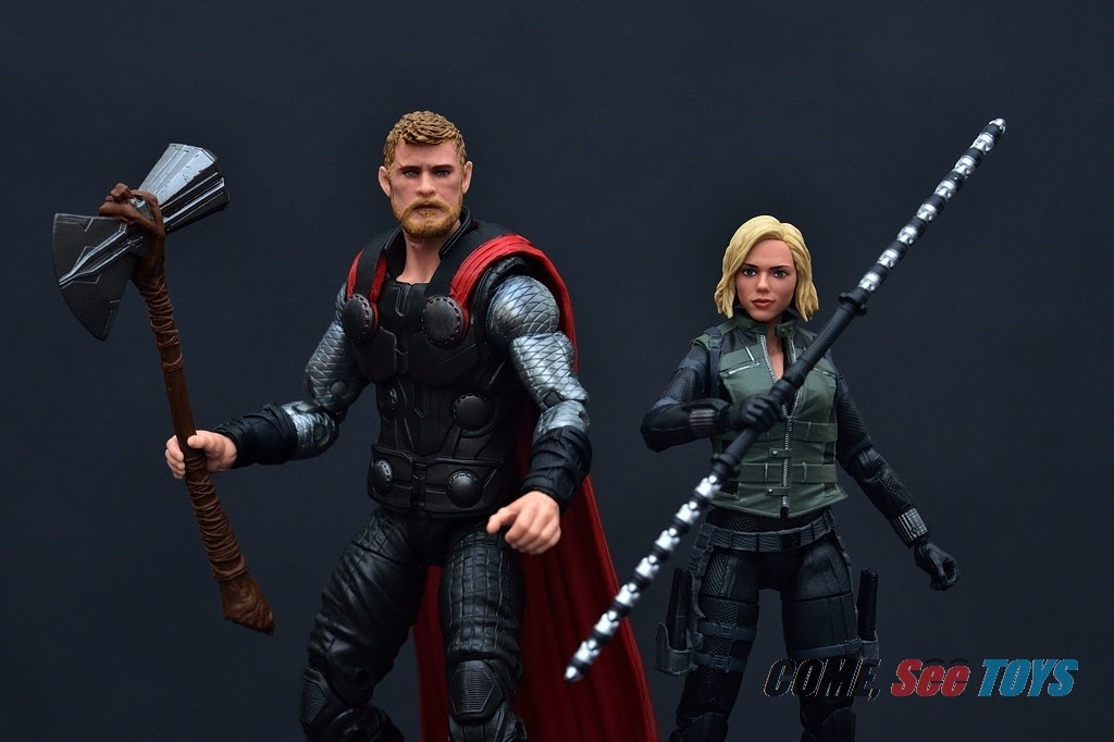 Come See Toys Marvel Legends Series Mcu Black Widow