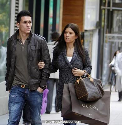 José María Callejón and his wife Marta